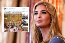 Hyderabad Police Doesn't Want Ivanka Trump To See Beggars On Streets, Bans Begging