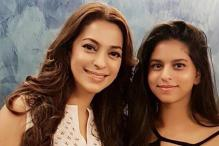 Here's What Shah Rukh Khan Has to Say About Juhi Chawla's Picture With His Daughter Suhana Khan