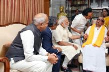 Narendra Modi in Chennai LIVE: PM's 10-Minute Meeting With Karunanidhi Sets Off 2019 Buzz