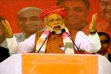 PM Modi Mixes Gujarati Pride and Nationalism to Hit Out at Congress in Campaign Blitz