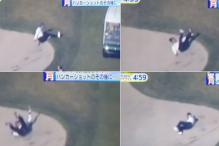 Prime Minister Shinzo Abe Had A Great Fall While Playing Golf With Donald Trump
