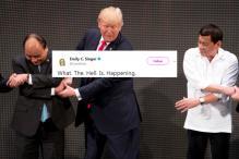 Social Media Mocks Trump's Awkward 'ASEAN Handshake' In Manila