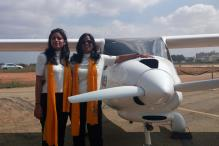 Mother-daughter Duo Plan Around The World in 80 Days Trip in a Glider