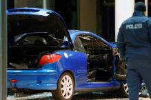 Driver Rams Car Into German Party Headquarters in Apparent Suicide Bid