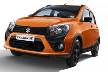 Maruti Suzuki CelerioX Launched in India For Rs 4.57 Lakhs