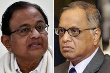 Chidambaram Faults Linking Everything to Aadhaar, Murthy Says it is Already Being Done With Google
