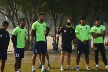 After Cricketers, Footballers Now Wear Masks At Training in the Capital