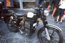 World's First Electric Royal Enfield Classic 500 Spotted in Thailand