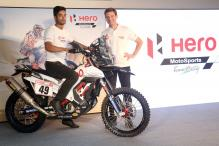 Hero MotoSports Showcases the New Hero RR 450 Rally Bike for the First Time in India