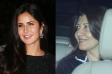 Salman Khan Parties with Exes Katrina Kaif and Sangeeta Bijlani