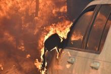 Wildfire Burns Homes, Winery in Los Angeles's Posh Bel-Air Neighborhood