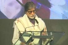 Touched to Find a Picture of Mine on the side of Bedridden Balasaheb: Amitabh at Launch of Thackeray Biopic