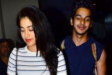 Janhvi Kapoor Bonds With Ishaan Khatter & His Family! See Pics...