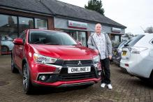 Mitsubishi Delivers ASX 3 to its First Online Buyer in UK
