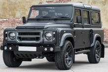 Land Rover Defender Modified as Flying Huntsman 6x6 Soft-Top by Kahn Design