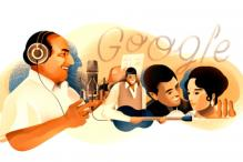 Google Celebrates Music Legend Mohammed Rafi's 93rd Birth Anniversary With a Doodle