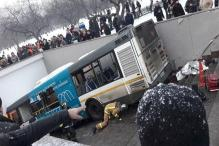 Bus Ploughs Into Crowd at Busy Pedestrian Underpass in Moscow, Kills 4