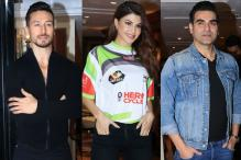 Jacqueline Fernandez, Tiger Shroff at Super Fight League 2 Launch