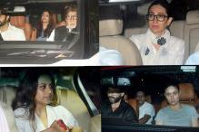 Kareena-Saif, Bachchans call on Shashi Kapoor's Family to Pay Respects