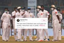 Social Media Rages Against Sri Lankan Cricketers for Wearing Masks at Kotla