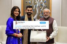 'Namo with VKAS': Virat-Anushka's Meet With PM Modi Has Turned Into A Meme