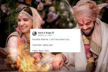 Twitterati Crash Virushka Wedding; Rope in Rahul Gandhi, Manyavar Too