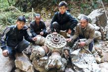 Remains of a WW-II Aircraft Unearthed in Arunachal Pradesh