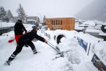 Swiss on High Avalanche Alert on Eve of World Economic Forum in Davos