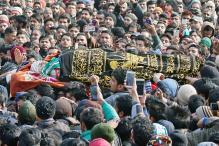 In Pictures: Farhan Ahmad Wani's Funeral in Kashmir