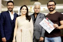 Photos: Aamir Khan Turns Clapper Boy For 'Total Dhamaal'