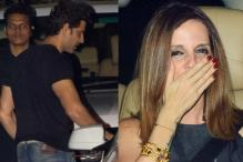 Ex-Wife Sussane Parties With Hrithik Roshan on His Birthday
