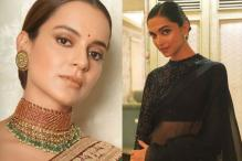 Deepika Padukone, Kangana Ranaut Look Spectacular In Sabyasachi Sarees; See Pics