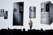 CES 2018: A Smart Fridge That Can Call You an Uber