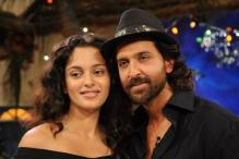 Kangana Hints At Affair With Hrithik Yet Again, Recites a Soulful Poem For The Actor On This Show