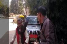 Jharkhand BJP Leader Caught on Tape Assaulting Transport Officer For Removing Name Plate From Car