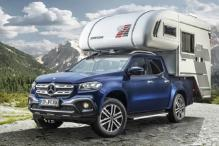 Mercedes-Benz X-Class Pickup Camping Concept Images Released