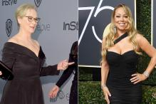 Golden Globe Awards 2018: When Mariah Carey Stole Meryl Streep's Seat