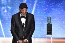 SAG Awards 2018: Morgan Freeman Accepts Lifetime Achievement Honour