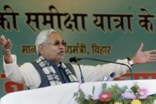 Nitish Kumar's Convoy Pelted with Stones During Samiksha Yatra, CM Escapes Unhurt