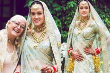 After Anushka Sharma, Nafisa Ali's Daughter Pia Opts For A Dreamy Sabyasachi Outfit