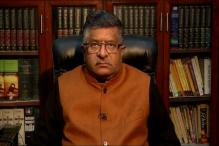 Govt Paying Maintenance Would Incentivise Triple Talaq, Says Ravi Shankar Prasad