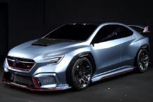 Subaru Viziv Performance STI Concept Revealed at Detroit Auto Show