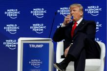 Donald Trump Booed at Davos For Attacking the 'Fake' Press