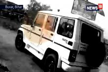 Video Shows Alarming Attack on Nitish Kumar's Convoy With Large Stones and Bricks