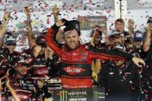 Motor Racing: Dillon Wins Crash-Marred Dayton 500