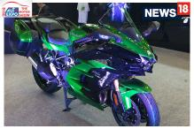 Auto Expo 2018: First Look of Kawasaki Ninja H2 SX SE at Auto Expo