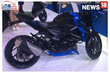 Auto Expo 2018: First Look of Suzuki GSX-S750 at Auto Expo
