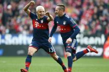 Franck Ribery Among Scorers as Bayern March on in Bundesliga