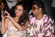 Ranveer Singh Bonds with B-Town Divas at MUD Studio Launch
