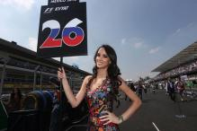 Formula One to Stop Using Female Models on the Grid